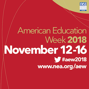 It's American Education Week!