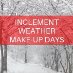Make-Up Day Scheduled for November 26th