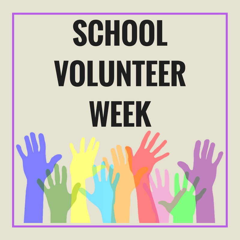 It's Public School Volunteer Week!