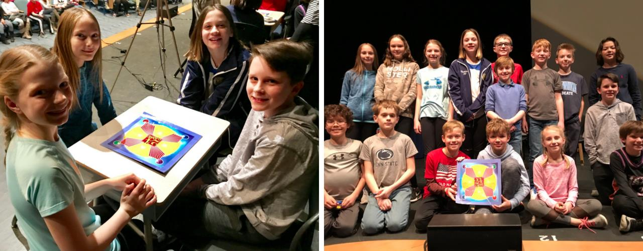 ... Eisenhower Elementary students participate in a Math 24 Tournament